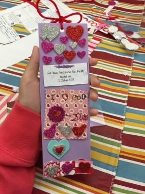 Valentine's Day Kids Art